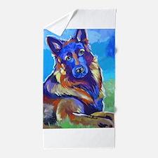 The Pop Art Shepherd Beach Towel