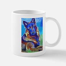 The Pop Art Shepherd Mugs