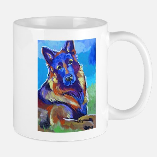 The Pop Art Shepherd Mugs