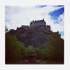 Edinburgh Castle Tile Coaster