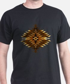 Native Style Orange Sunburst T-Shirt