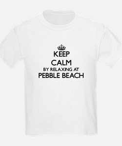 Keep calm by relaxing at Pebble Beach Cali T-Shirt