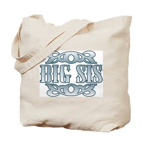 Big Sister Silver Buckle Tote Bag
