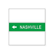 """Cute Nashville Square Sticker 3"""" x 3"""""""
