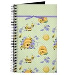 Bee Dance Floral Journal