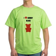 I (Heart) Gummy Bears - T-Shirt