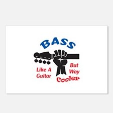 BASS GUITAR Postcards (Package of 8)