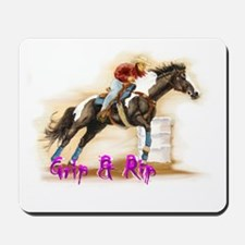 Grip & Rip, Barrel racer Mousepad