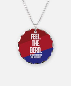 Feel. The. Bern. Necklace