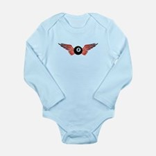 winged 8ball Body Suit