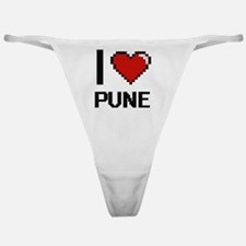 Funny India travel Classic Thong