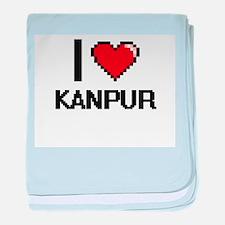 I love Kanpur Digital Design baby blanket