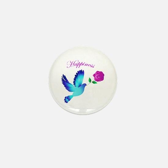 Bluebird Of Happiness Mini Button
