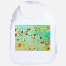 Butterflies on springtime Bib