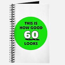 60th Birthday - Happy Birthda Journal