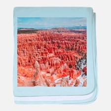 BRYCE CANYON AMP baby blanket