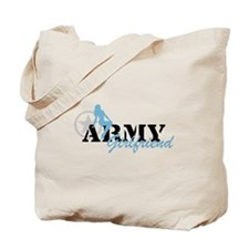 Sexy ARMY Girlfriend - Blue Tote Bag