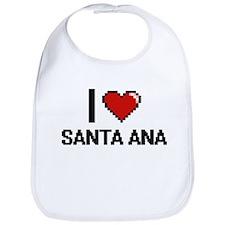 I love Santa Ana Digital Design Bib