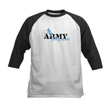 Sexy ARMY Girlfriend - Blue Tee