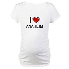 I love Anaheim Digital Design Shirt