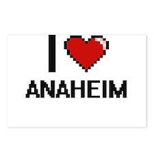I love Anaheim Digital De Postcards (Package of 8)