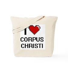 I love Corpus Christi Digital Design Tote Bag