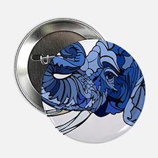 """Blue Elephant 2.25"""" Button"""