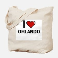 I love Orlando Digital Design Tote Bag