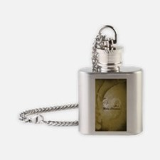Vintage, Santa Claus Flask Necklace