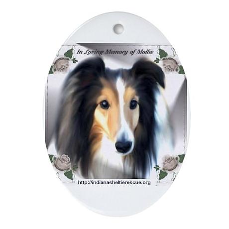 Memory of Mollie Sheltie Ornament