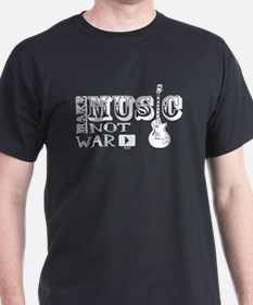 Make Music, Not War T-Shirt