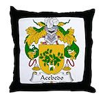 Acebedo Family Crest Throw Pillow