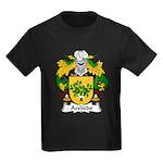 Acebedo Family Crest Kids Dark T-Shirt