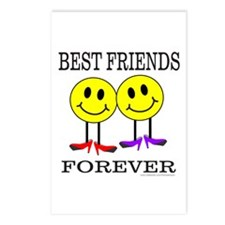 BFF BEST FRIENDS FOREVER Postcards (Package of 8)