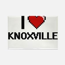 I love Knoxville Digital Design Magnets