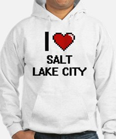 I love Salt Lake City Digital De Hoodie