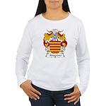 Abogadro Family Crest Women's Long Sleeve T-Shirt