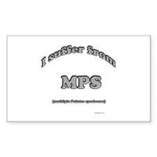 Pointer Syndrome Rectangle Decal