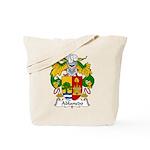 Ablanedo Family Crest Tote Bag