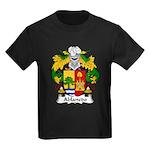 Ablanedo Family Crest Kids Dark T-Shirt