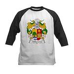 Ablanedo Family Crest Kids Baseball Jersey