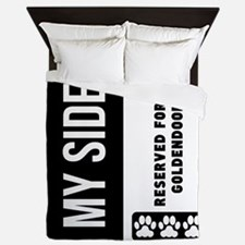 Reserved For My Goldendoodle Queen Duvet