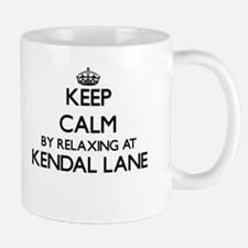 Keep calm by relaxing at Kendal Lane Massachu Mugs