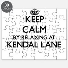 Keep calm by relaxing at Kendal Lane Massac Puzzle
