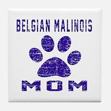 Belgian Malinois mom designs Tile Coaster