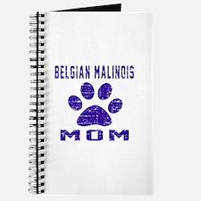 Belgian Malinois mom designs Journal