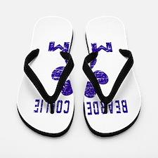 Bearded Collie mom designs Flip Flops