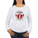 Abiaga Family Crest Women's Long Sleeve T-Shirt