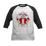 Abiaga Family Crest Kids Baseball Jersey