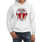Abiaga Family Crest Hooded Sweatshirt